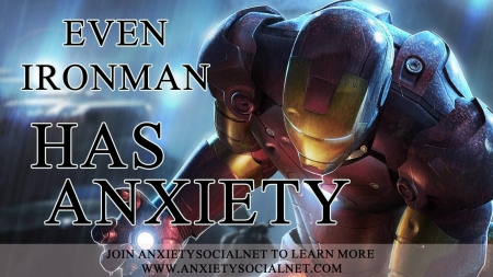 Iron Man Has Anxiety